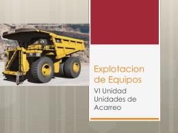 Explotacion de Equipos - Ing. Edson Rodríguez
