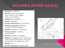 HOLANDA PAISES BAJOS