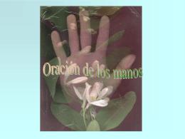Oración de las manos