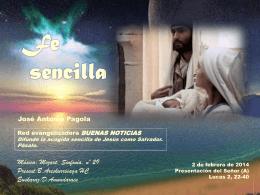 FE SENCILLA -Presentación