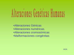 ALTERACIONES HUMANAS - elmatraz