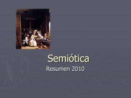 Semiótica - Nuestras Clases