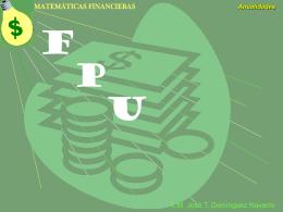 Anualidades - Universidad Autónoma de Yucatán