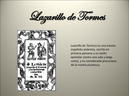 Lazarillo de Tormes - Material didáctico Guillem |