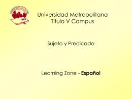 Universidad Metropolitana Título V Campus