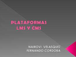 PLATAFORMAS LMS Y CMS - informaticaenlaescuela