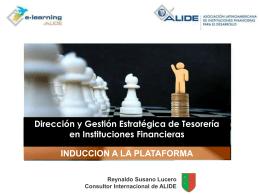 INDUCCION A LA PLATAFORMA - Alide E