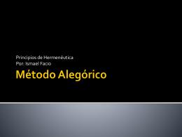 Método Alegórico