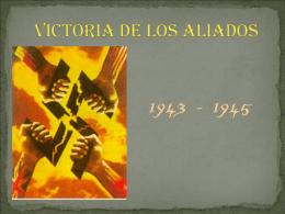 VICTORIA DE LOS ALIADOS