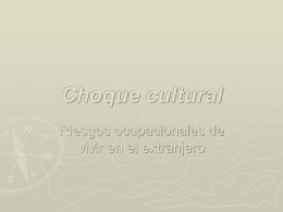 Choque cultural - SIL International: Partners in