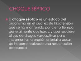 CHOQUE SÉPTICO - Seccionseis's Weblog