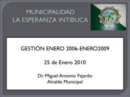 MUNICIPALIDAD DE TELA - Municipalidad de La