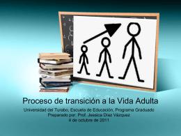 Proceso de transición a la Vida Adulta