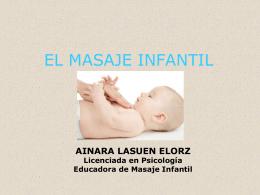 EL MASAJE INFANTIL
