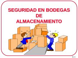 BODEGAS DE ALMACENAMIENTO