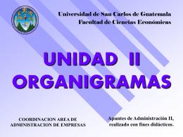 LOS ORGANIGRAMAS - Rescate Estudiantil