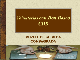 Entrevista con un Voluntario con Don Bosco -