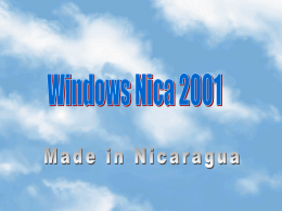 Windows Nica 2001