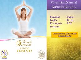 Vivencia Esencial on line
