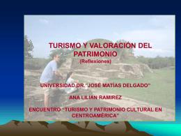 TURISMO Y PATRIMONIO El Salvador II CONGRESO