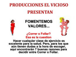 Fomentemos valores