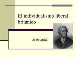 El Individualismo liberal britanico