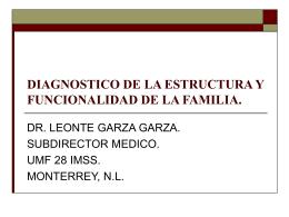 DIAGNOSTICO DE LA ESTRUCTURA Y FUNCIONALIDAD DE LA