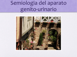 Semiologia del aparato genito
