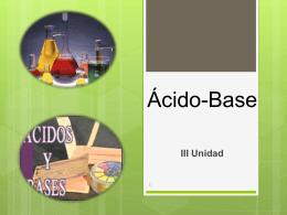 Ácído-Base - MSc. Alba Veranay Díaz Corrales |