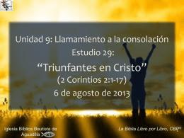 2 Corintios - Iglesia Biblica Bautista de