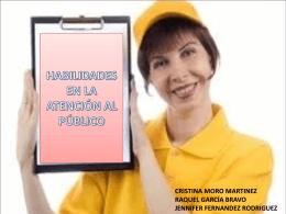 HABILIDADES EN LA ATENCIÓN AL PÚBLICO