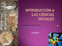 INTRODUCCION A LAS CIENCIAS SOCIALES - Eduteka -