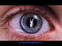 El Proyecto Matriz #111