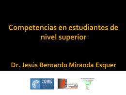 Competencias en estudiantes de nivel superior Dr.