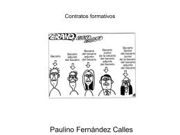 Contratos formativos y a tiempo parcial