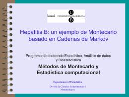 Hepatitis B: un ejemplo de Montecarlo basado en