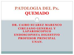 QUEMADURA - clasesmedicina