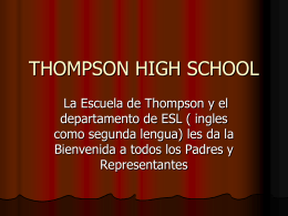 Thompson High School