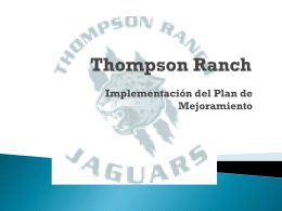 Thompson Ranch
