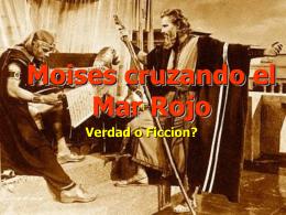 Cruzando el Mar Rojo - El Evangelista Mexicano