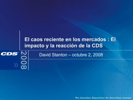 Recent Market Turmoil: Impact and CDS Responses