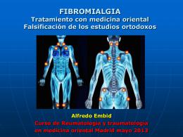 FIBROMIALGIA - Medicina Holistica