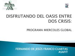 DISFRUTANDO DEL OASIS ENTRE DOS CRISIS