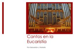 Cantos en la Eucaristía - Escuela de Verano Itepa