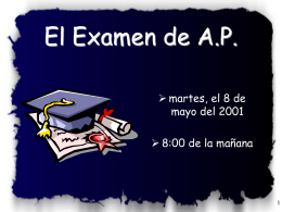 The 1997 AP Spanish Language Exam