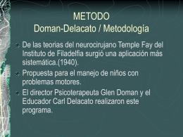 Método Doman-Delacato
