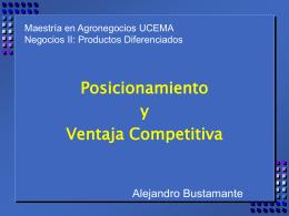Posicionamiento - UCEMA | Universidad del CEMA