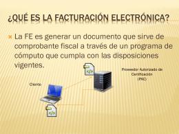 FacturaciÓN ELECTRÓNICA - Home Page