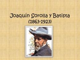 Joaquín Sorolla y Batista (1863