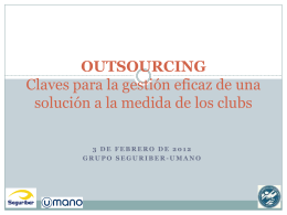 Ventajas del outsourcing